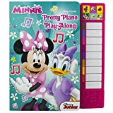 Disney Minnie Mouse - Pretty Piano Play-Along Song Board Book with Built-in Keyboard - PI Kids