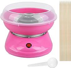 Machine à Barbe à Papa Machine à Bonbons Fabricant Automat Cotton Candy 500W (Rose)