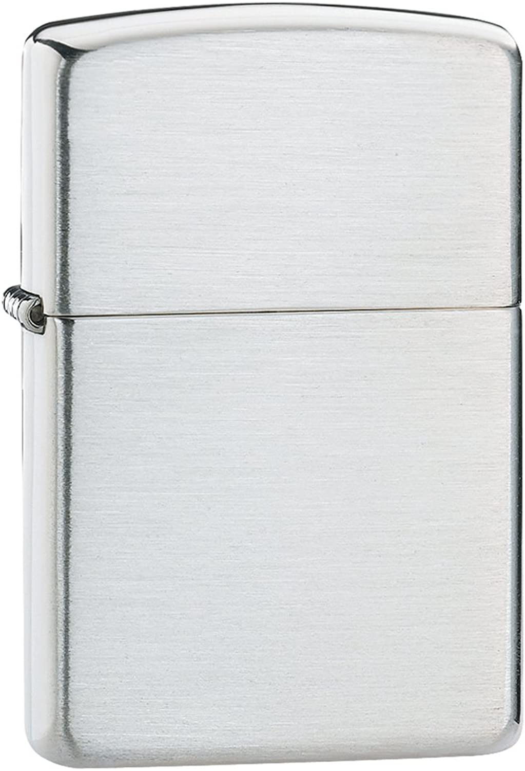 Zippo Windproof Lighter - Brushed Sterling Silber