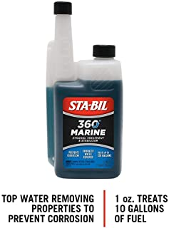 STA-BIL (22240) 360 Marine Ethanol Treatment and Fuel Stabilizer - Prevents Corrosion - Helps Clean Fuel System For Improv...