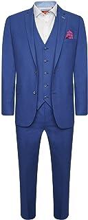 HARRY BROWN Suit Slim Fit Linen Blend 3 Piece
