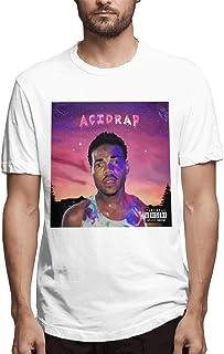 Kemeicle Men Chance The Rapper Acid Rap Short Sleeve T-Shirt