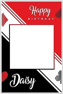 Canasta Birthday Selfie Frame Poster