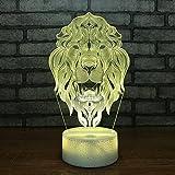 Venta caliente 3d Night Light Creative Led niños iluminación juguete junto a...