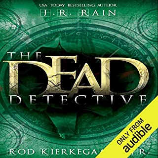 The Dead Detective audiobook cover art
