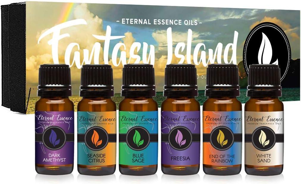 Fantasy Island - Gift El Paso Mall Set of Jacksonville Mall Freesia Fragrance Oils Premium 6