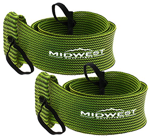Midwest Outfitters Rod Socks Fishing Rod Sleeve Cover -2Pack- Rod Sock Fishing Pole Covers for Spinning Baitcaster and Youth Fishing Pole Sizes - Rod Cover Comes in Multiple Sizes and Colors