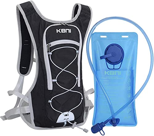 KBNI Hydration Backpack Water Backpack with BPA Free 2L Water Bladder Phone Protection Waterproof Fabric for Outdoor ...