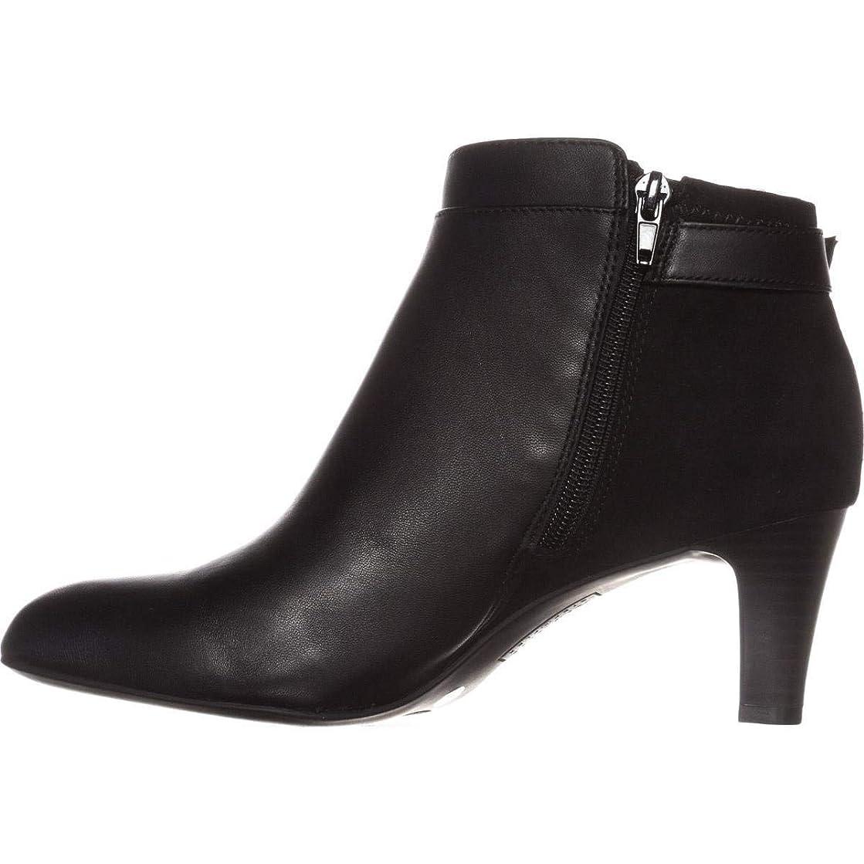 夢中レパートリー津波[Alfani] Womens Viollet Leather Leather Pointed Toe Ankle Fashion Boots [並行輸入品]