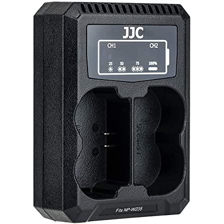 Jjc Usb Dual Ladegerät Für Fujifilm Gfx100s X T4 Kamera