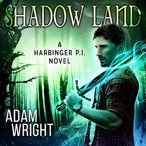 Shadow Land audiobook cover art