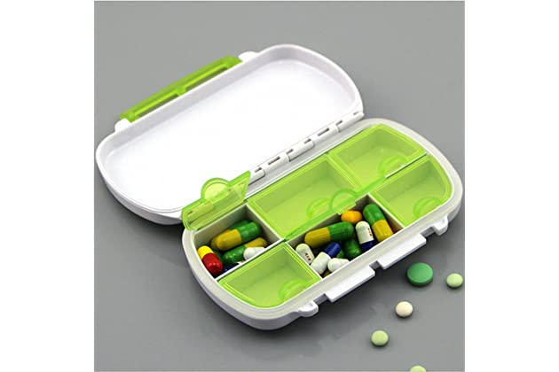 Best locking pill boxes for purse | Amazon com