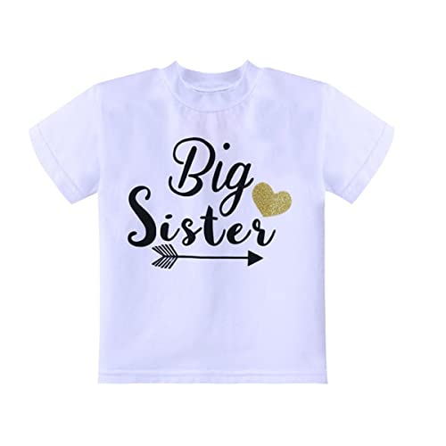 6f6c6dfab Baby Girls Panoware Unisex Big Middle Little Brother and Sister T-Shirts