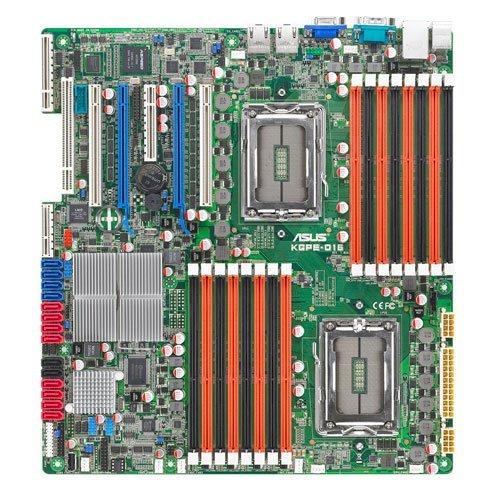 Asus KGPE-D16 Mainboard Sockel AMD SR5690 16x DDR3 Speicher SSI EEB 3.0 (Generalüberholt)