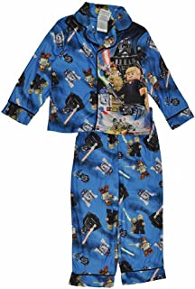 Star Wars Boys Blue Flannel Pajamas