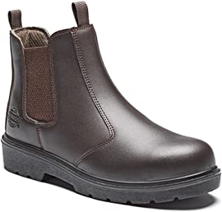 Dickies Mens S1P Dealer Slip On Safety Boots (9) (Brown