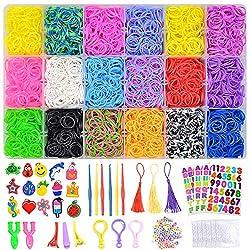 Image of 7100+ Rainbow Rubber Bands...: Bestviewsreviews