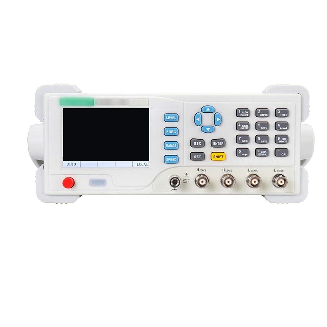 降下普及アクセル電子計測機器 デジタルベンチトップLCRメータET4502デスクトップLCRブリッジ、USBおよびRS-232、調整可能測定周波数10hz?20KHZ抵抗計インピーダンスアナライザ容量計インダクタンス測定 高精度