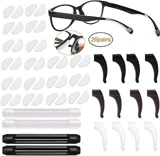 Wei/ß SUPVOX Brillenb/ügel Silikon Brille Ohrb/ügel Antirutsch Strap Halter f/ür Brillen Sonnenbrillen 5 Paar