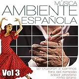 Musica Ambiente Española .Flauta, Guitarra y Compas Flamenco. Vol 3