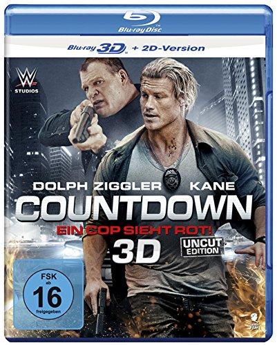 Countdown - Ein Cop sieht rot! [3D Blu-ray + 2D Version]