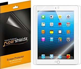 (3 Pack) Supershieldz for Apple iPad 4, 3 and 2 Generation Screen Protector, High Definition Clear Shield (PET)