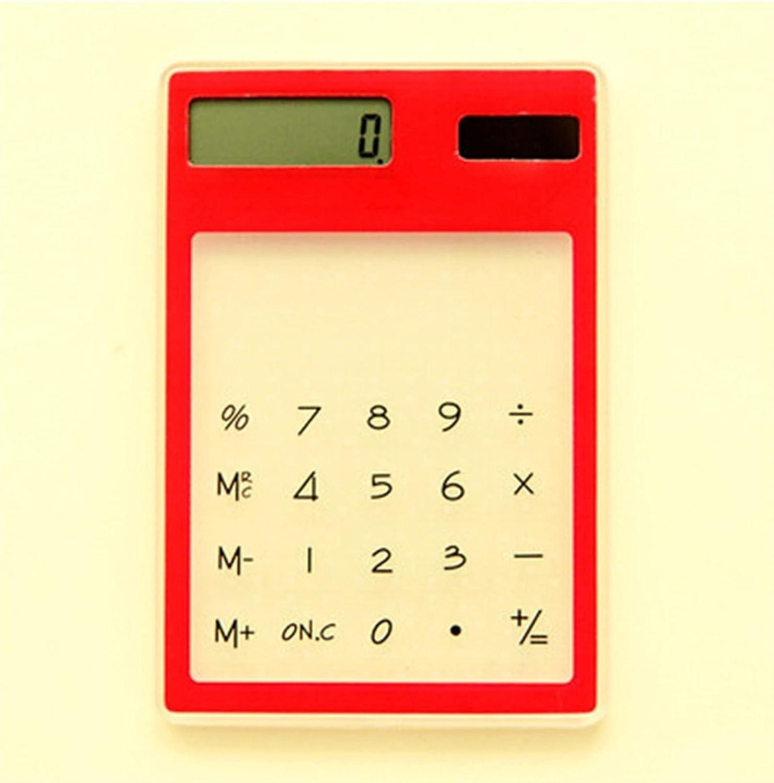 WBHUBIN Max 65% OFF Finally popular brand Calculator Creative Stationery Candy Slim T Solar Energy