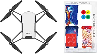 Tello Quadcopter Drone with HD Camera and VR,Powered by DJI Technology and Intel Processor,Coding Education,DIY Accessories,Throw and Fly (Without Controller)