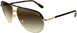 Cole Sunglasses in Gold Dark Havana