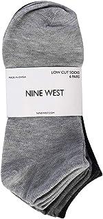 Nine West Low Cut Socks for Women, Comfortable Ankle Socks, Size Medium, 6 Pack