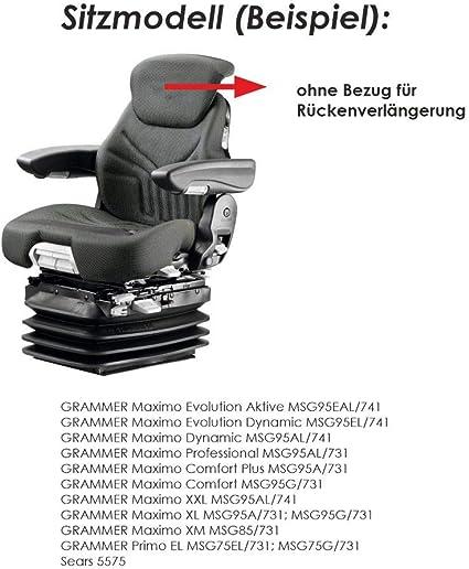 Rau Schonbezug Sitzbezug Für Landmaschinen Traktor Trecker Schlepper Bagger Grammer Sitze Auto