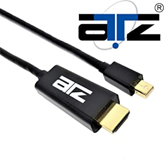 ATZ MINI DISPLAYPORT v1.2 TO HDMI 4K w/GOLD PLATED CABLE (2M)