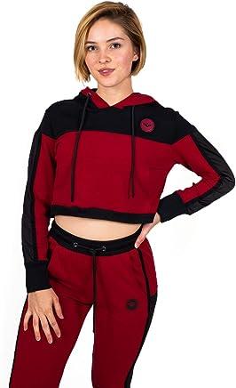 443000c6700 Flex-N-Flex Women's Long Sleeve Sweatshirt Crop Top Hoodie, Pullover  Sweatshirt