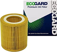 ECOGARD X5607 Cartridge Engine Oil Filter for Conventional Oil - Premium Replacement Fits BMW 328i, X3, X5, 328i xDrive, 528i, 335i, 535i, 535i xDrive, X1, 325i, 528i xDrive, 328xi, 320i, Z4, 128i