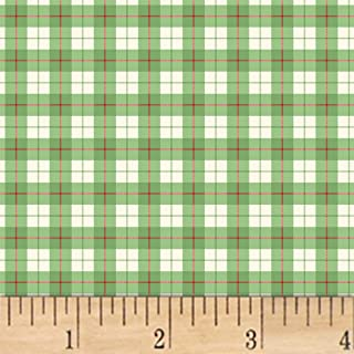 Windham Fabrics A Walk In The Woods Plaid Green, Fabric by the Yard