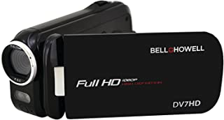 Bell + Howell Slice2 DV7HD-BK Full 1080p HD Camcorder with Touchscreen and 60x Zoom with 3-Inch LCD (Black)