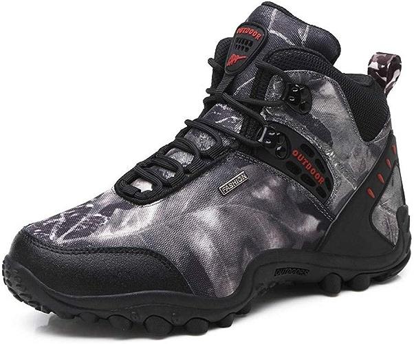 DSX Chaussures de Randonnée Chaussures de Randonnée pour Hommes Chaussures de Plein Air pour Hommes Bottes Imperméables Bottes pour Hommes Chaussures de Trekking, Chaussures de randonnée, 10UK