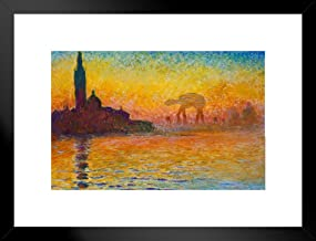 Poster Foundry Imperial Assault at Dusk in Venice by Monet Art Humor Art Humor 20x26 inches Black 239072