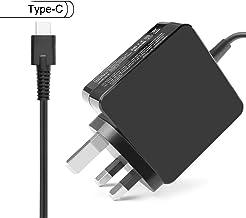 Flgan 65W 45W USB-C Caricabatterie Adattatore per HP usb-c Charger Elite x3 Spectre x2 Spectre x360 13 Pavilion x2 10 Serie TPN-CA01 TPN-CA02 TPN-LA06
