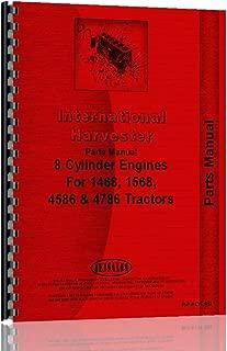 Parts Manual International Harvester V800 DV550 V8 Diesel Engine
