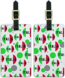 Graphics & More Country National C-i-Italia Italy Italian Flag, White