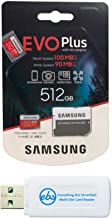 Samsung Micro 512 GB Evo Plus Tarjeta de memoria Clase 10...