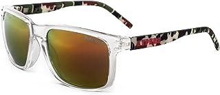 c40e288a4d KYPERS Coconut Gafas de sol, Clear- Red Mirror, 57 Unisex