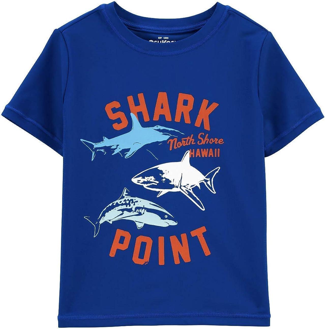 Carter's Our shop OFFers the best service Shark Luxury Point Rash Swim Guard Shirt