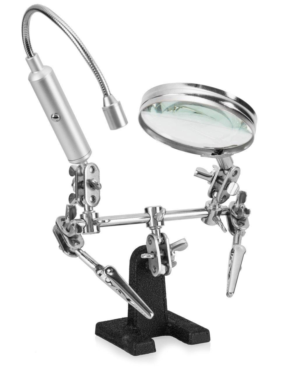 Ram Pro Magnifier Flexible Flashlight Alligator