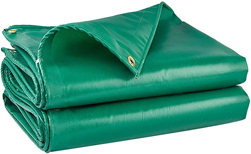 Bache Imperméable De Tissu Antipluie Avec Le Vert UV Extérieur De Prougeection Solaire Antipluie De Boutonnière (Taille   3.8m4.8m)
