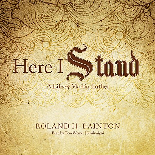 Here I Stand audiobook cover art