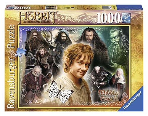 Ravensburger 19081 - The Hobbit: Treue Gefährten-Puzzle, 1000 Teile