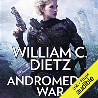 Andromeda's War audiobook cover art