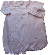 Girl's Take Me Home Outfit 3 Piece, in Ribbon Rosebud Pattern (S16571) NB, 0-3 Month